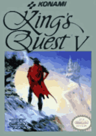 aKings Quest V USA 208x294 188x266 Kings Quest V NES Nintendo Review Screenshot