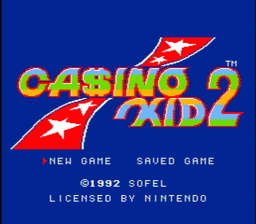 Casino Kid 2 USA 001 256x224 Casino Kid II NES Nintendo Review Screenshot
