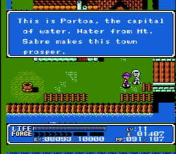Crystalis USA 244 256x224 Crystalis NES Nintendo Review Screenshot