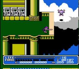 Crystalis USA 837 256x224 Crystalis NES Nintendo Review Screenshot