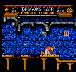 Dragons Lair USA 082 Dragons Lair NES Nintendo Review Screenshot