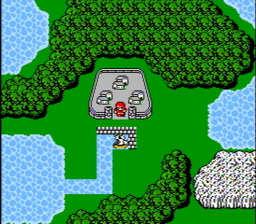 Final Fantasy USA 087 256x224 Final Fantasy NES Nintendo Review Screenshot