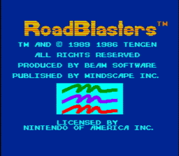 RoadBlasters USA 001 256x224 RoadBlasters NES Nintendo Review Screenshot