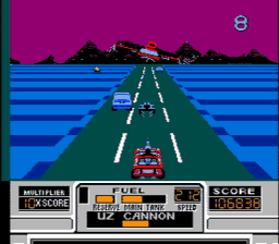 RoadBlasters USA 051 256x224 RoadBlasters NES Nintendo Review Screenshot