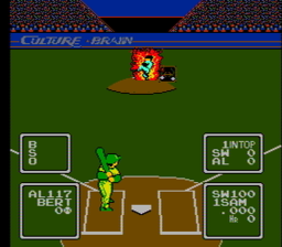 Baseball1Simulator 1000 USA 019 256x224 Baseball Simulator NES Nintendo Review Screenshot