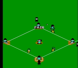 baseball1Simulator 1.000 USA 047 256x224 Baseball Simulator 1.000 NES Nintendo Review Screenshot