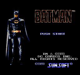 Batman The Video Game USA 0021 Batman: The Video Game NES Nintendo Review Screenshot