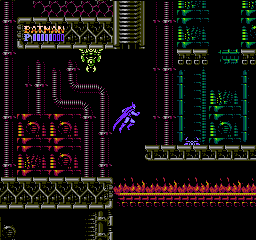Batman The Video Game USA 179 Batman: The Video Game NES Nintendo Review Screenshot