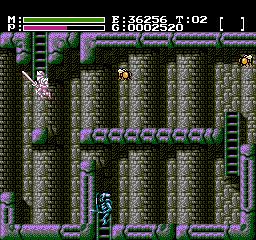 Faxanadu USA 806 Faxanadu NES Nintendo Review Screenshot