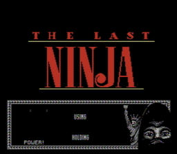 Last Ninja The USA 002 256x224 The Last Ninja NES Nintendo Review Screenshot