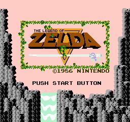 Legend of Zelda The USA 001 The Legend of Zelda NES Nintendo Review Screenshot