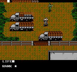 Metal Gear USA 031 Metal Gear NES Nintendo Review Screenshot