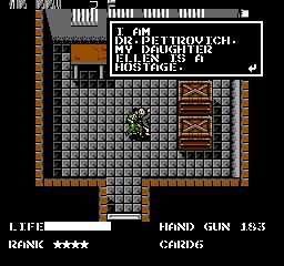 Metal Gear USA 471 Metal Gear NES Nintendo Review Screenshot