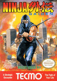 Ninja Gaiden USA 188x266 Ninja Gaiden NES Nintendo Review Screenshot