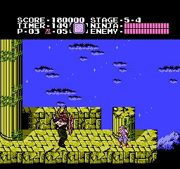 Ninja Gaiden USA 336 Ninja Gaiden NES Nintendo Review Screenshot