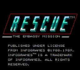 Rescue The Embassy Mission USA 003 256x224 Rescue: The Embassy Mission NES Nintendo Review Screenshot