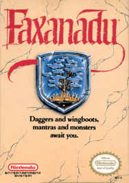 aFaxanadu USA Rev A 188x266 Faxanadu NES Nintendo Review Screenshot