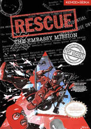 aRescue The Embassy Mission USA 188x266 Rescue: The Embassy Mission NES Nintendo Review Screenshot