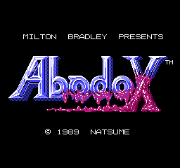 Abadox USA 001 Abadox   The Deadly Inner War NES Nintendo Review Screenshot