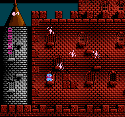 Milons Secret Castle USA 119 Milons Secret Castle NES Nintendo Review Screenshot