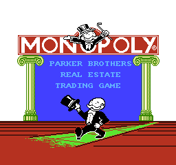 Monopoly USA 001 Monopoly NES Nintendo Review Screenshot