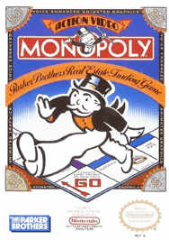 aMonopoly USA 188x266 Monopoly NES Nintendo Review Screenshot