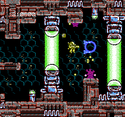 Abadox USA 150 Abadox   The Deadly Inner War NES Nintendo Review Screenshot