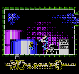 James Bond Jr USA 197 James Bond Jr. NES Nintendo Review Screenshot