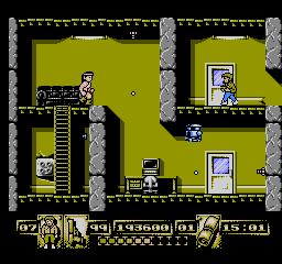 James Bond Jr USA 301 James Bond Jr. NES Nintendo Review Screenshot