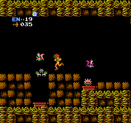 Metroid USA 224 Metroid NES Nintendo Review Screenshot