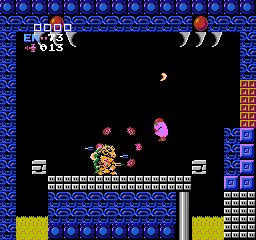 Metroid USA 397 Metroid NES Nintendo Review Screenshot