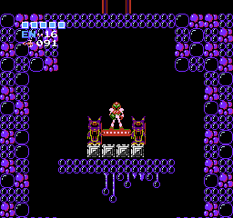 Metroid USA 437 Metroid NES Nintendo Review Screenshot