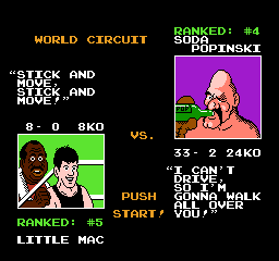 Mike Tysons Punch Out USA 160 Mike Tysons Punch Out!! NES Nintendo Review Screenshot