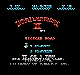 Ikari Warriors II Victory Road USA 001 Ikari Warriors II: Victory Road NES Nintendo Review Screenshot