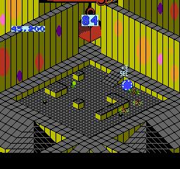 Marble Madness USA 054 Marble Madness NES Nintendo Review Screenshot