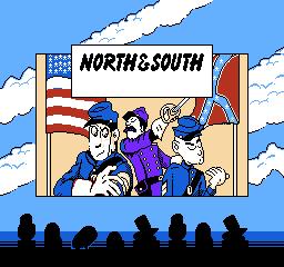 North South USA 005 North & South NES Nintendo Review Screenshot