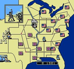 North South USA 032 North & South NES Nintendo Review Screenshot