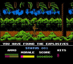 Platoon USA Rev A 023 256x224 Platoon NES Nintendo Review Screenshot