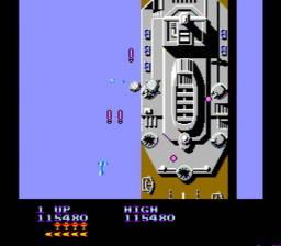 Sky Shark USA Rev 0A 036 256x224 Sky Shark NES Nintendo Review Screenshot