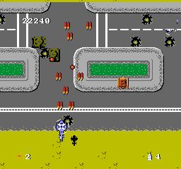 Twin Cobra USA 011 Twin Cobra NES Nintendo Review Screenshot