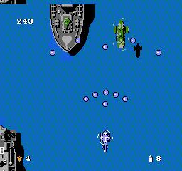 Twin Cobra USA 084 Twin Cobra NES Nintendo Review Screenshot