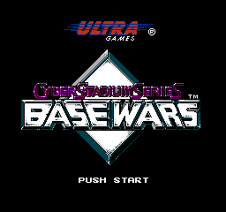Base Wars Cyber Stadium Series USA 002 Cyber Stadium Series: Base Wars NES Nintendo Review Screenshot