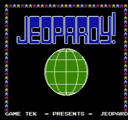 Jeopardy USA 002 256x240 Jeopardy! NES Nintendo Review Screenshot