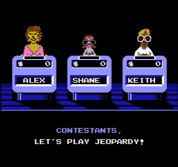 Jeopardy USA 035 256x240 Jeopardy! NES Nintendo Review Screenshot
