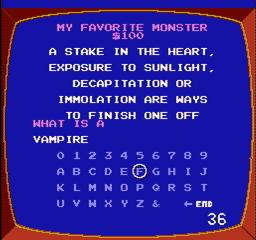 Jeopardy USA 053 256x240 Jeopardy! NES Nintendo Review Screenshot