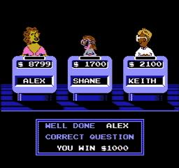 Jeopardy USA 260 256x240 Jeopardy! NES Nintendo Review Screenshot