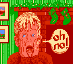 Home Alone USA 0 Home Alone NES Nintendo Review Screenshot