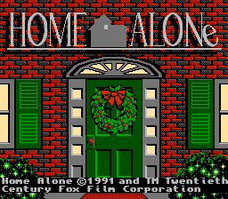 Home Alone USA 02 Home Alone NES Nintendo Review Screenshot