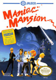 aManiac Mansion USA 188x266 Maniac Mansion NES Nintendo Review Screenshot