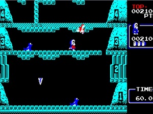 iceclimber Hudsons Japanese PC Only Nintendo Oddities NES Nintendo Review Screenshot